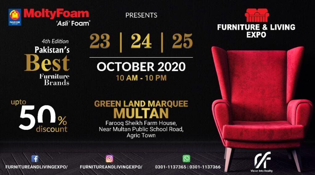 23th , 24th 25th October 2020 , At GREEN LAND MARQUEE, Farooq Sheikh Farm House, Agric Town, Multan.