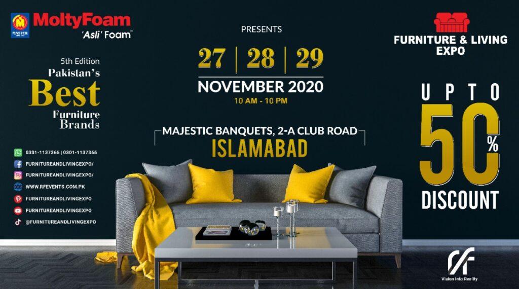 27th , 28th , 29th November 2020 , At Majestic Banquets , 2-A club road , Islamabad